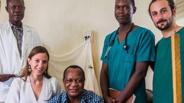 doctores chilenos en Chad