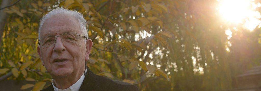 fotografía del padre Joaquín Alliende Luco