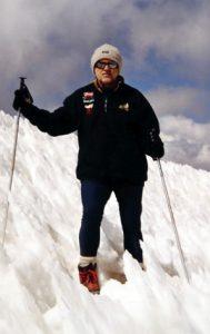 fotografía de Máximo Pacheco en la montaña