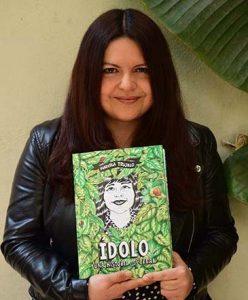 fotografía de la ilustradora Marcela Trujillo