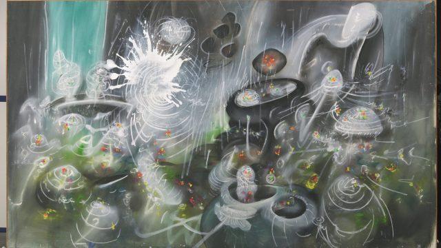 extracto de splash mattascopio de Roberto Matta