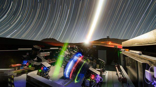 flashes de luz, alusión al big data cósmico