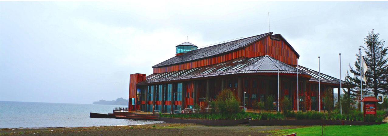 teatro del lago en el territorio de Llanquihue