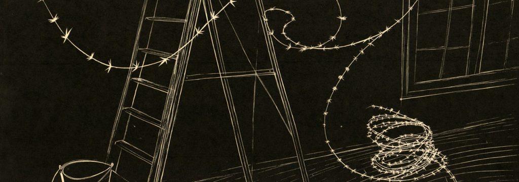 portada del libro Dos cuentos de José Donoso diseñada por Nemesio Antúnez