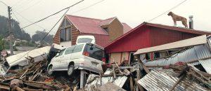 foto que muestra los efectos de uns terremoto