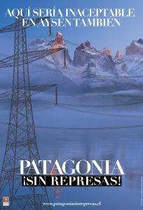 afiche patagonia sin represas