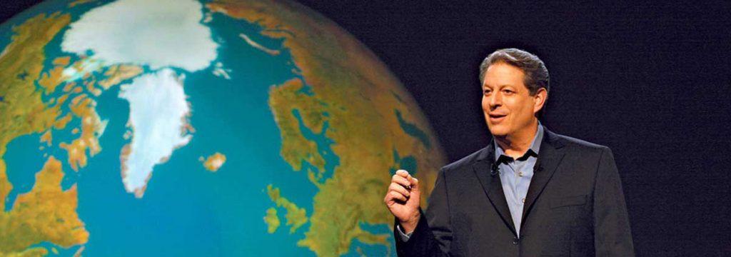 Al Gore creador del afamado documental sobre cambio climático