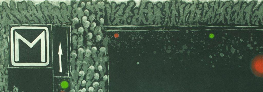Detalle obra de Nemesio Antúnez
