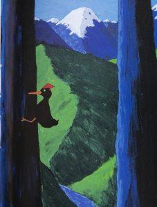 DOWN SOUTH. Acrílico sobre tela, 250 x 220 cm, 1998. Obra de Pablo Domínguez