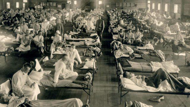 Epidemia y guerra