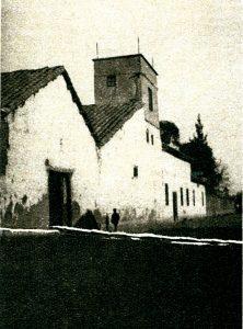 En la imagen, la torre de la casa de Pedro Prado, en la calle Mapocho.