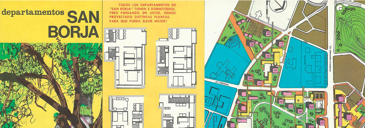 Plano antiguo de la construcción de las torres san borja
